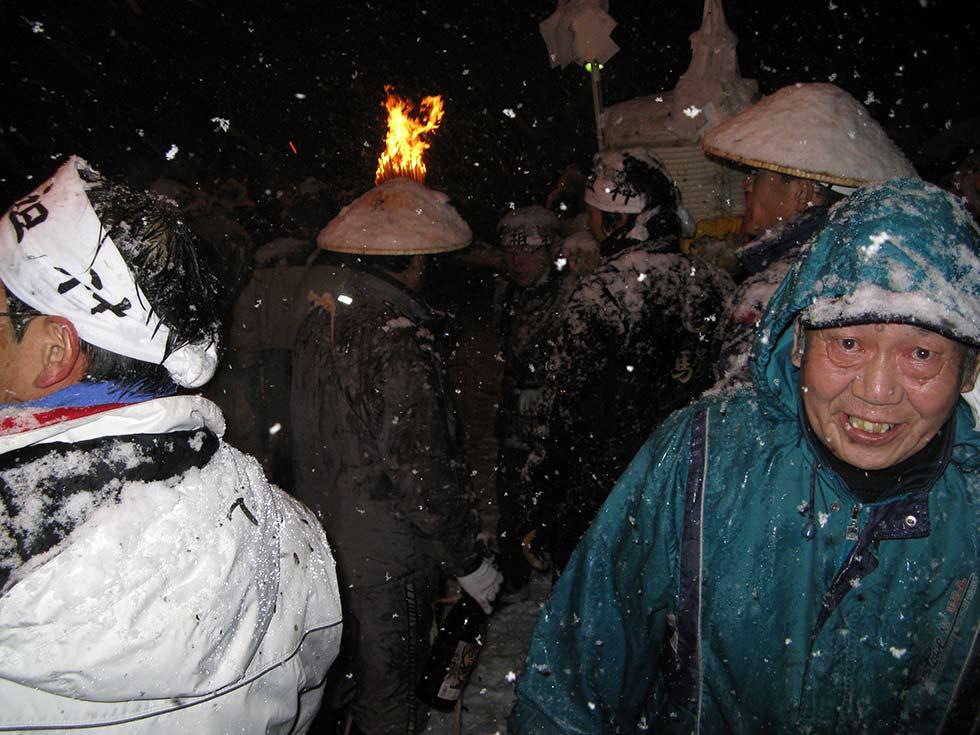 Nozawa Onsen - The Dosojin Fire Festival