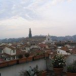 Looking over Florence by www.contentedtraveller.com