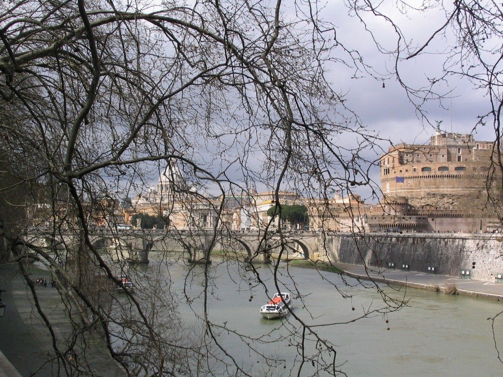A view of Rome by www.contentedtraveller.com