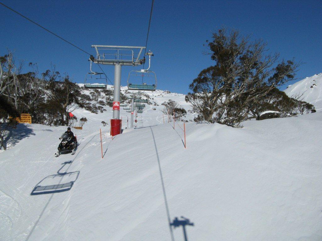 Skiing in Australia by www.contentedtraveller.com