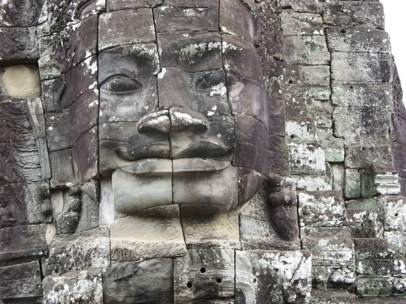Cambodia, Bayon Temple