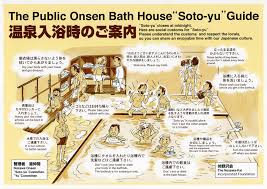 Onsen etiquette, Japan. Get it right!