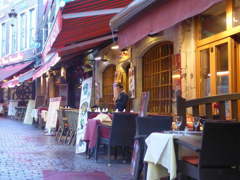 Rue de Bouchers brussels