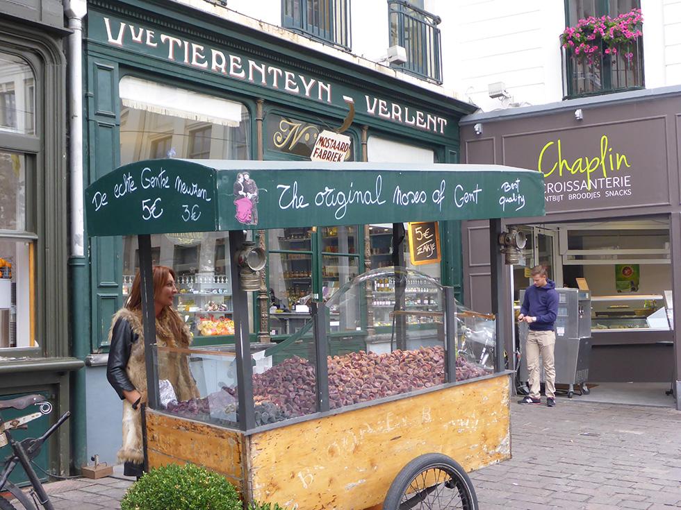 Ghent noses, Ghent Belgium