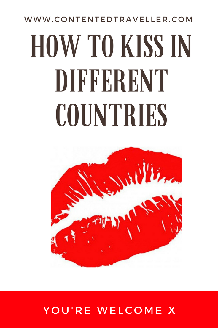 A Guide to How to Kiss in Different Countries
