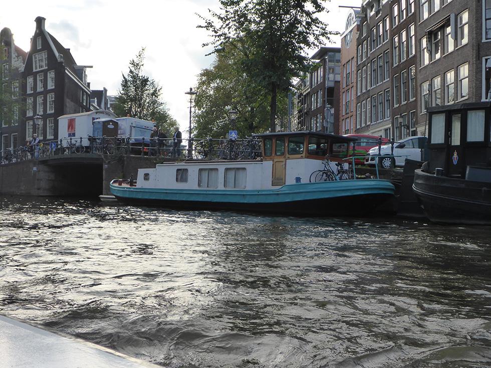 Houseboats of Amsterdam