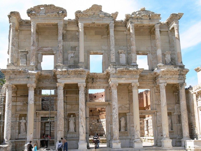 The Ruins of Ephesus are a bit of a jigsaw