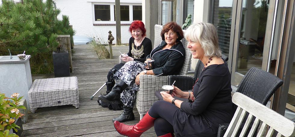 noor, lien and paula in Zandvoort