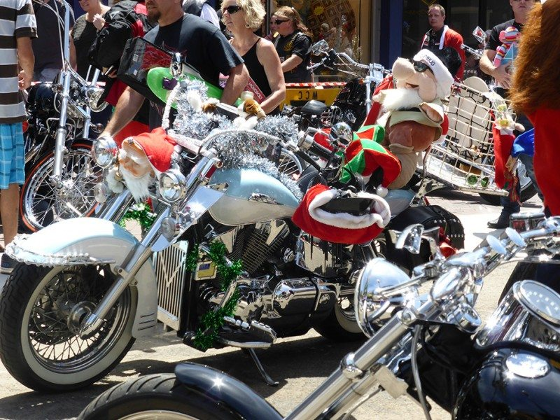annual bikers toy run, wollongong
