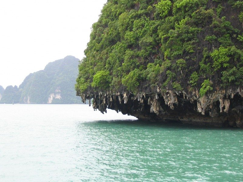 The islands of Phang Nga Bay, Phuket, Thailand
