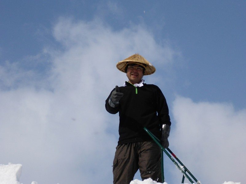 The people of Nozawa Onsen never stop working