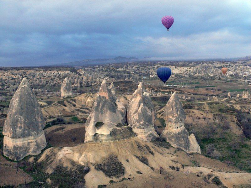 Ballooning over the Cappadocia's – a video