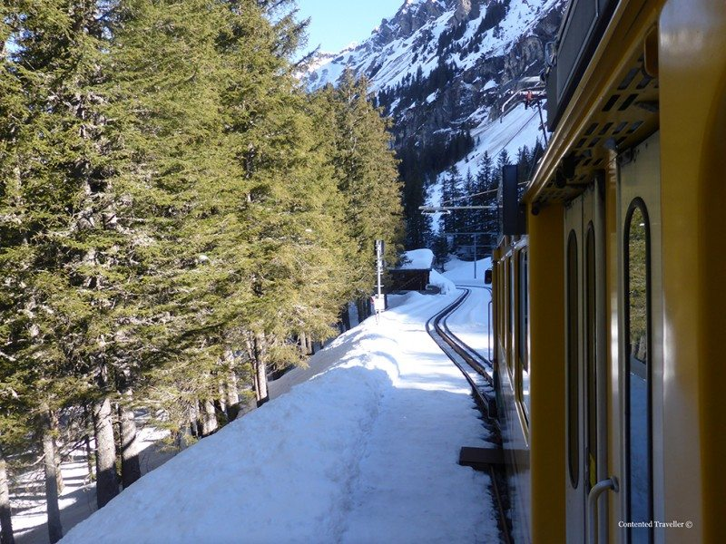 Our cog train trip to the stunning Wengen Switzerland