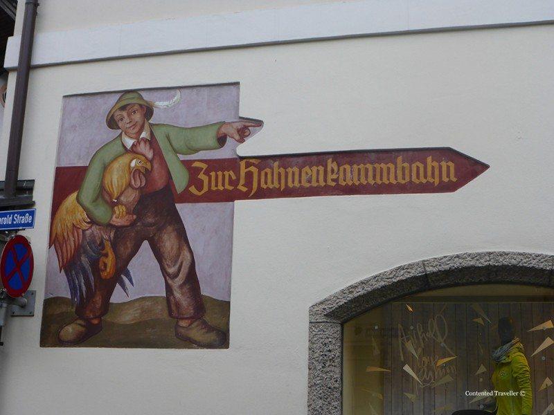 Street Art Kitzbuhel style