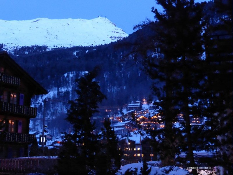 The Bahnhofstrasse, Zermatt