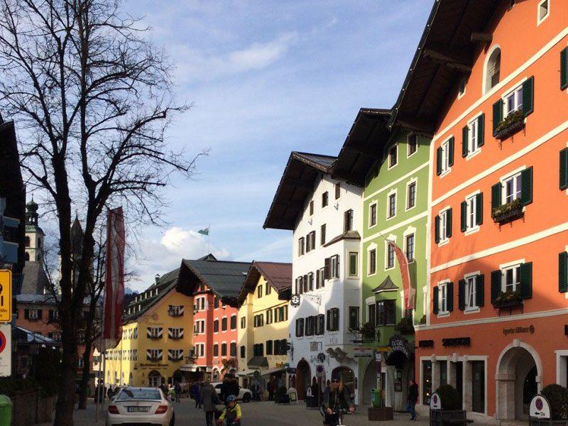 village of Kitzbuhel, Austria1