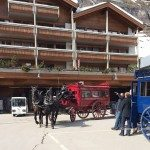 The Bahnhofstrasse, Zermatt, Switzerland