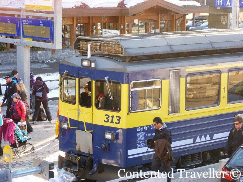 cogwheel train switzerland
