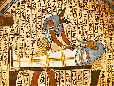 E is for Egypt – who always have death covered