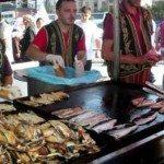 fish sandwich in istanbul