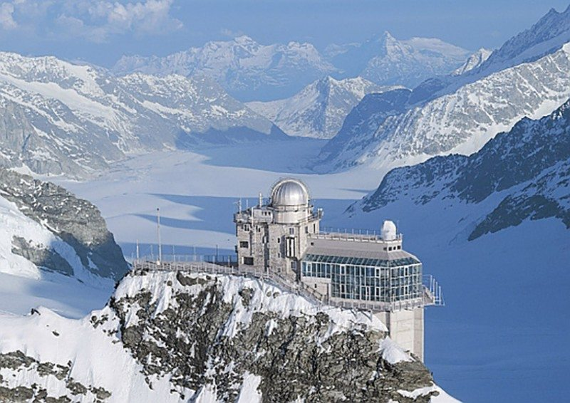 When in Switzerland go to the top of the world, jungfraujoch