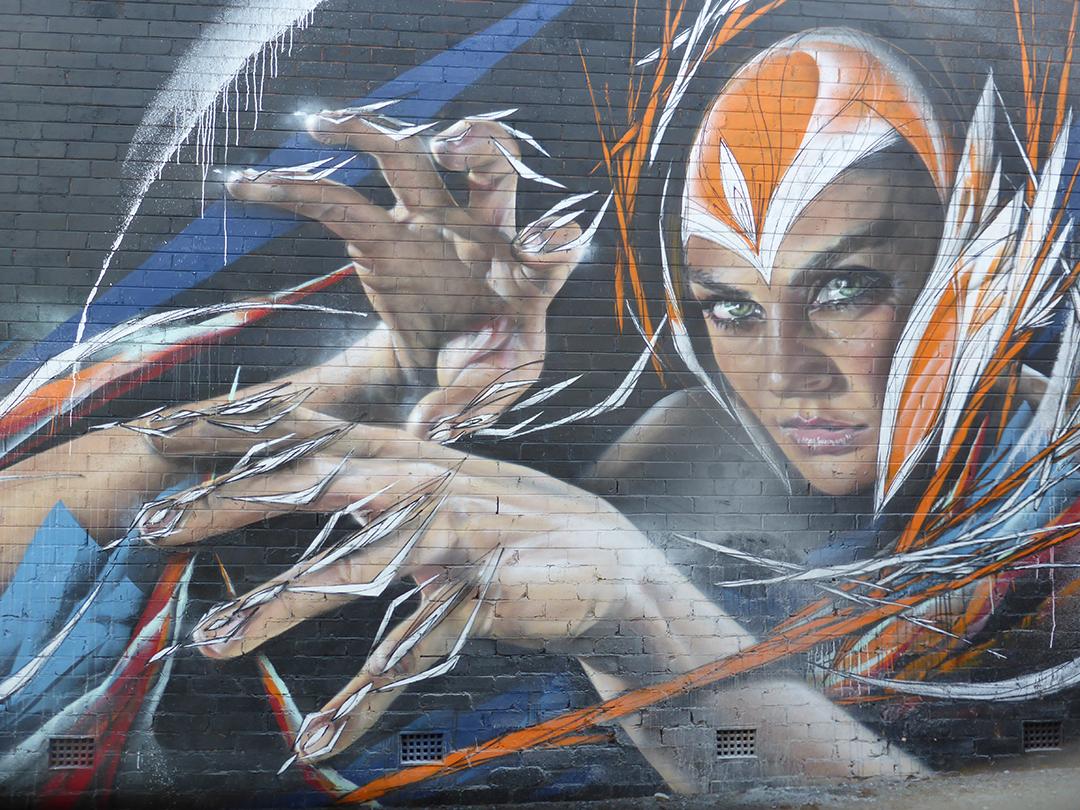 Street art in Wollongong