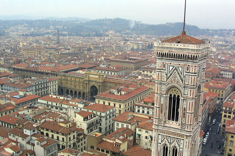 When in Florence … climb to the top of the Duomo.