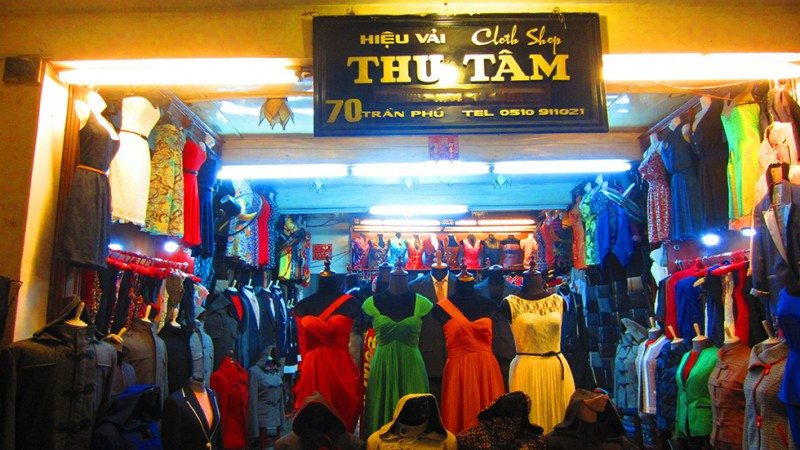 When in Hoi An Vietnam - visit a tailor
