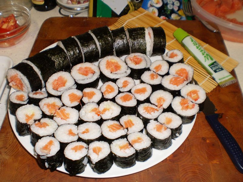 Sushi in Japan … #TastyTuesday