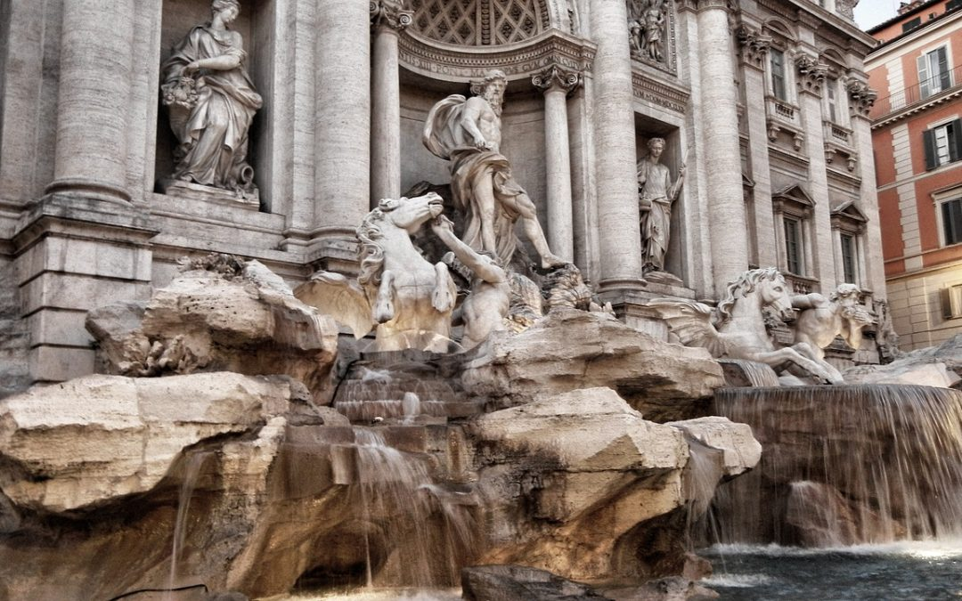 When in Rome, throw a coin in the Trevi Fountain ….#FridayTip