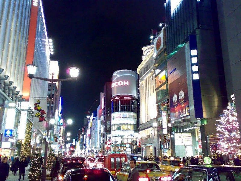 5 must see districts in Tokyo