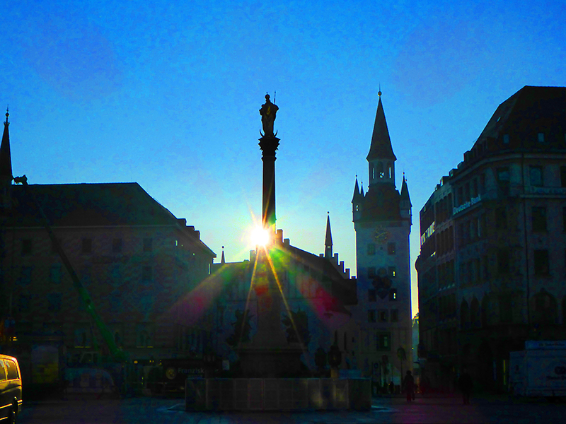 A Walking Tour of Munich