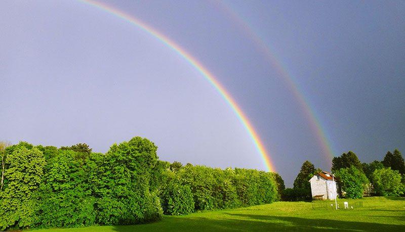 Double Rainbows-besancon