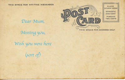 Postcards and letters still matter
