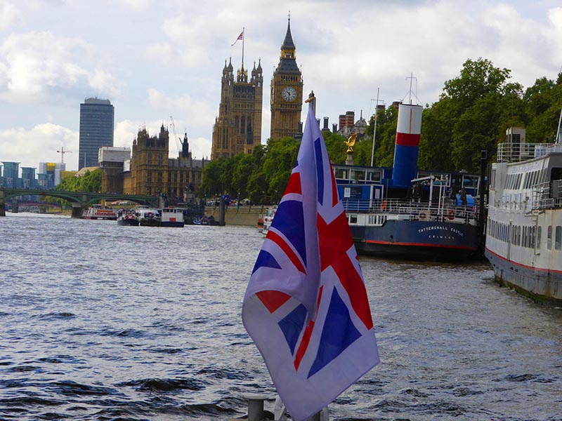 Discovering London via the Thames Clippers.