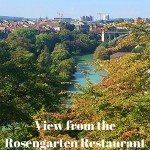 View from the Rosengarten Restaurant