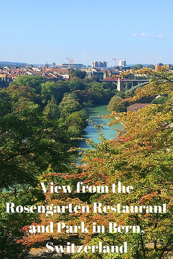 View from the Rosengarten Restaurant