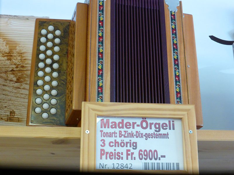 Listen to this Swiss Accordion Player – Emmental, Switzerland