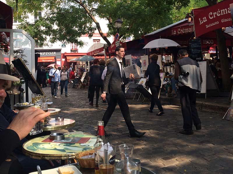 Visiting Montmartre