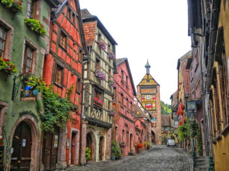 Riquewihr France  City pictures : Riquewihr The Alsace Region of France