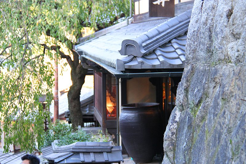 staying in a ryokan