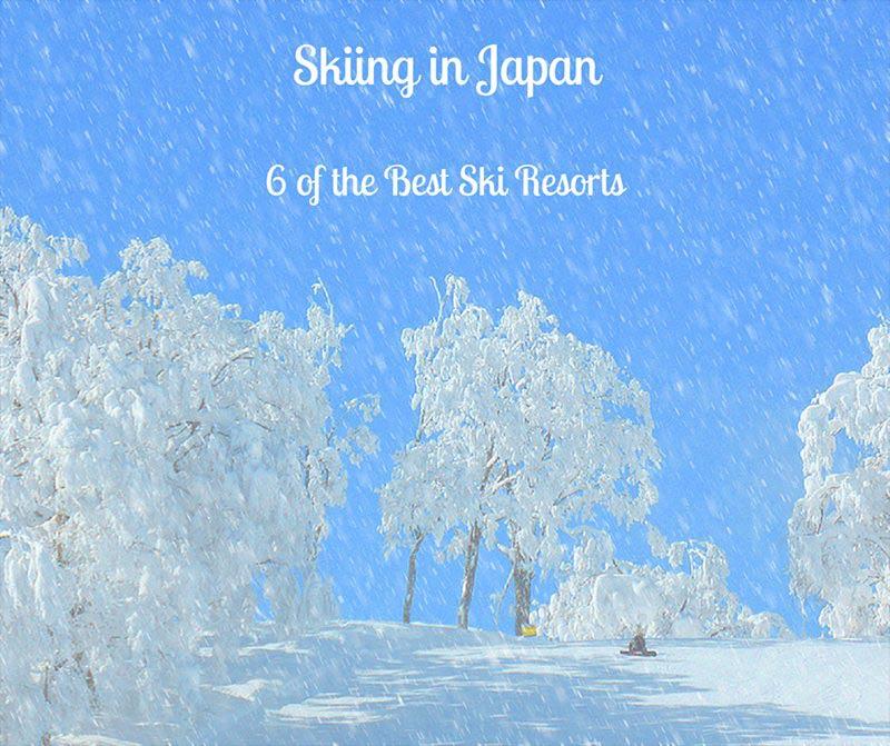 Skiing-in-Japan