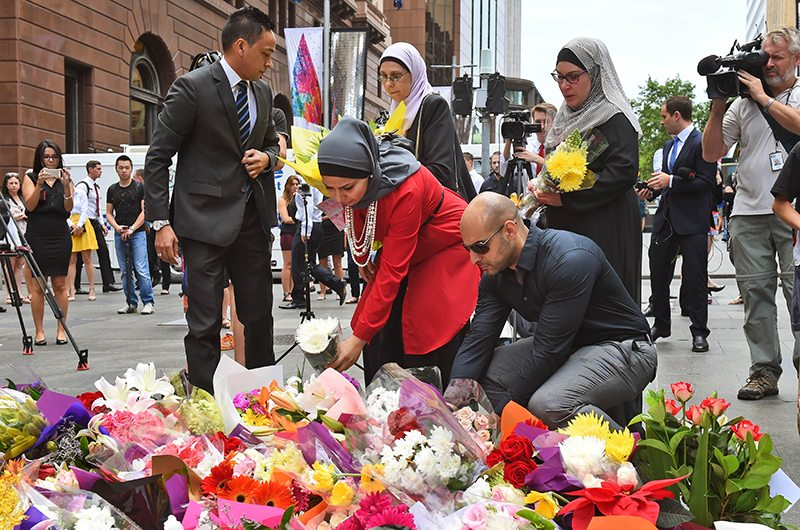 Outside Our Own Front Door #SydneySeige #illridewithyou