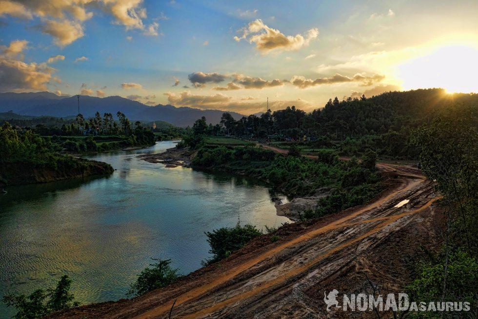 Phong-Nha-River-Sunset