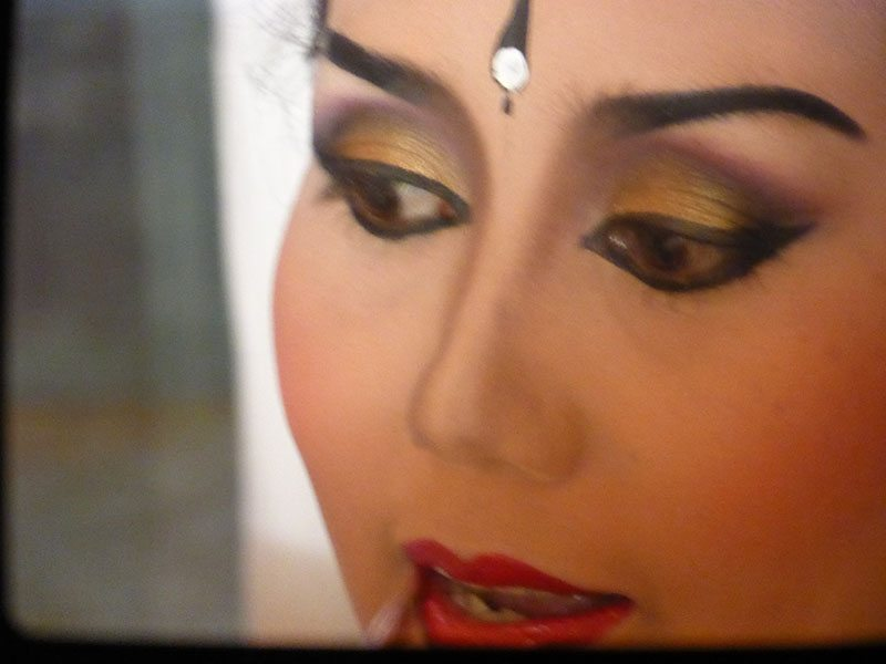 Balinese Dance Makeup Behind The Scenes