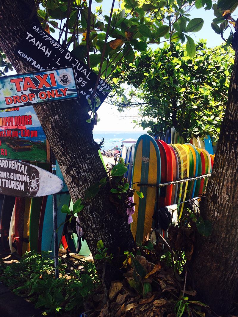 Canggu accommodation on beach