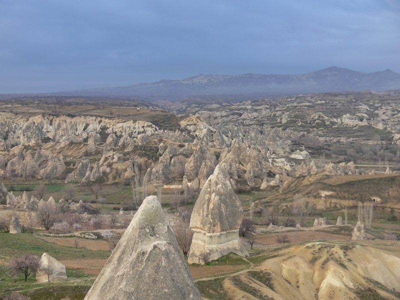 hot air balloon cappadocia turkey