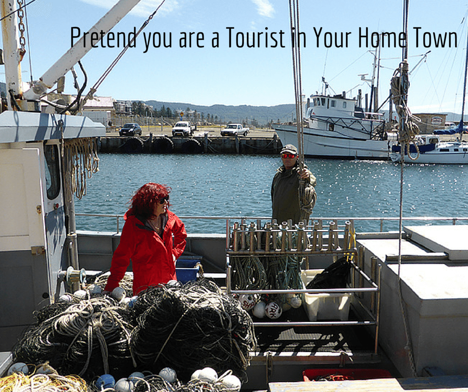 Pretend you are a Tourist in Your Home