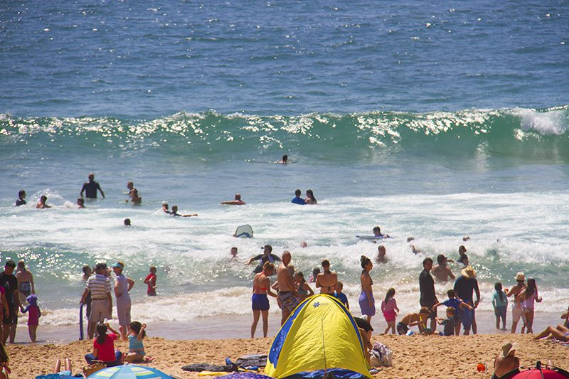 Swim between the bloody flags on Australian beaches