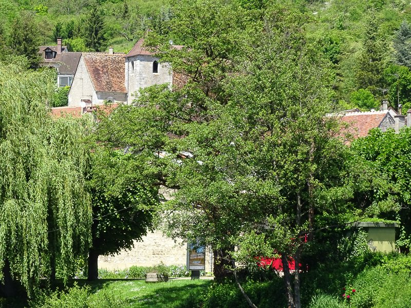 French Villages in the Burgundy Region